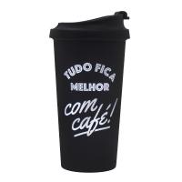 Copo Termico Viagem - Tudo Fica Melhor Com Cafe