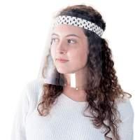 Máscara de Proteção Regulável Face Shield - Amiga do Coração
