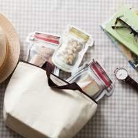 Sacos Herméticos Reutilizáveis Reutilizável - Transparente