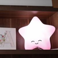 Estrela Luminária Com Fio Rosa | Presente Criativo