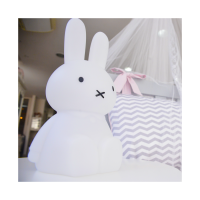 Miffy 45cm Luminária Rgb Sem Fio | Presente Criativo