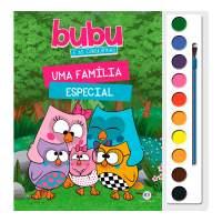 Livro Com Aquarela Uma Familia Especial - Bubu e as Corujinhas