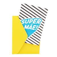 Cartão - Super Família Mãe