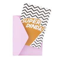 Cartão - Super Família Dinda