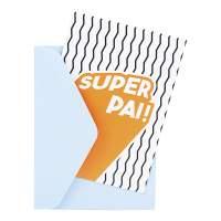 Cartão - Super Família Pai